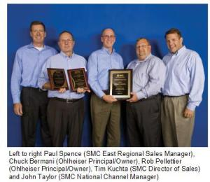 SMC Honors Ohlheiser Corp.